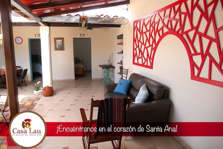 Casa Lau... en el corazón de Santa Ana