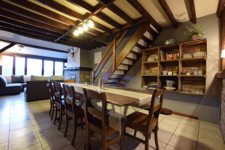 Charming and classic farmhouse in Roy, a drive away from Luxembourg