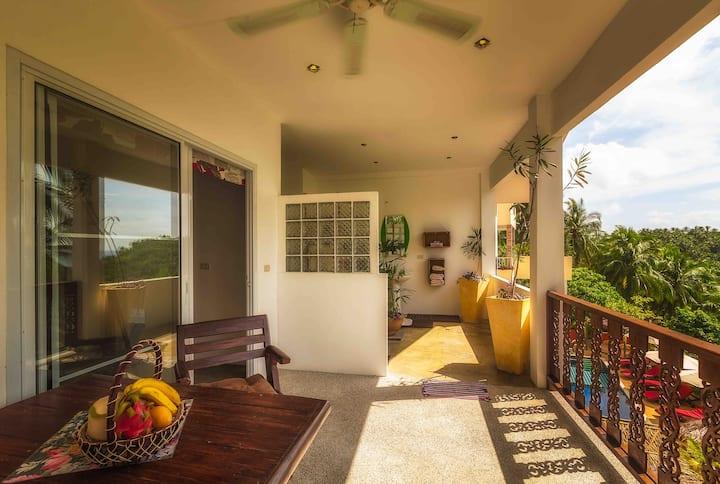 Samui Green Palm Resort Seaview Double Level Unit
