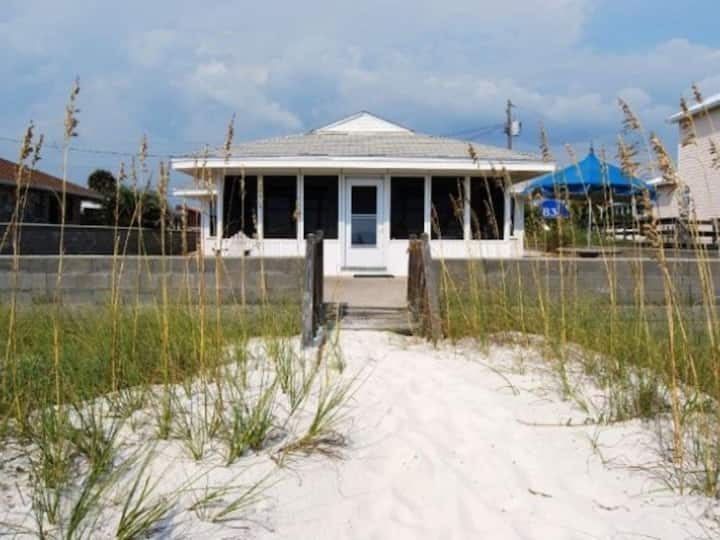 Vintage Gulf Front Home! Walk Right Out to the SAND!