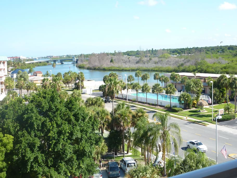View of Intracoastal Waterway from balcony