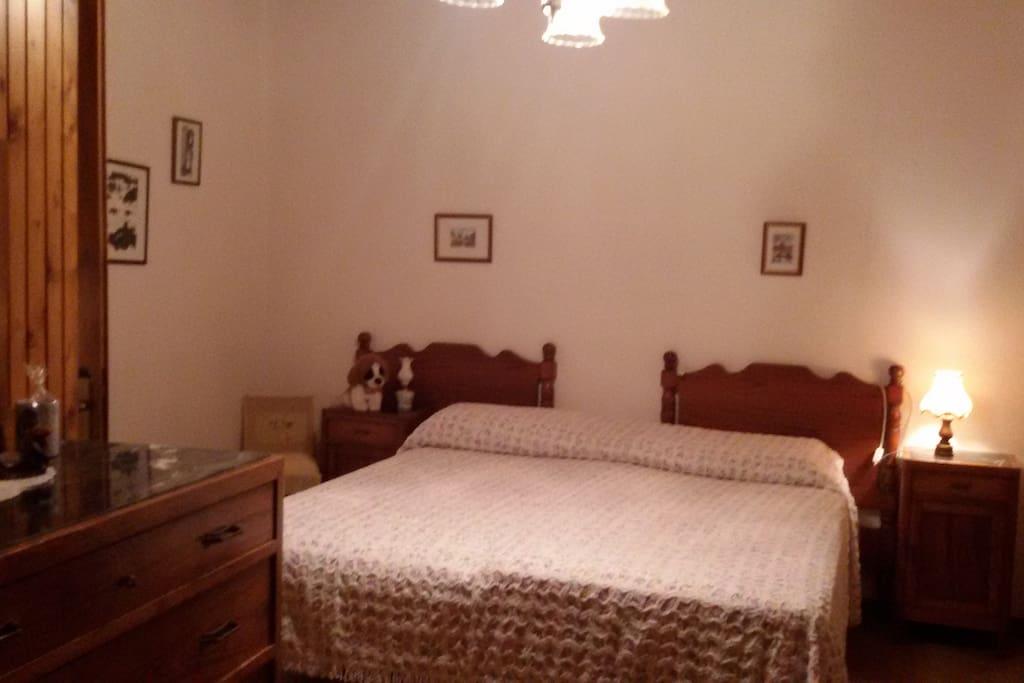 Camera da letto matrimoniale o possibilità 2posti singoli