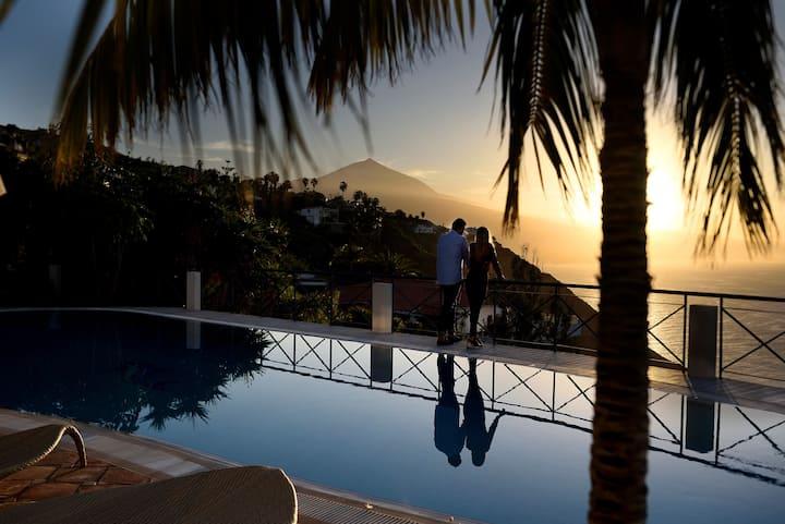 Villa de lujo en El Sauzal - Villa Bahía
