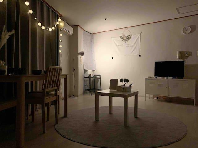 ⭐️NEW⭐️中文OK! Cozy House @YOUNGSAN Stn 5min Room B