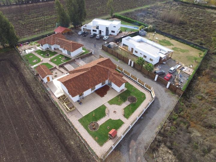 Casa Santa cruz valle de colchagua, chomedague