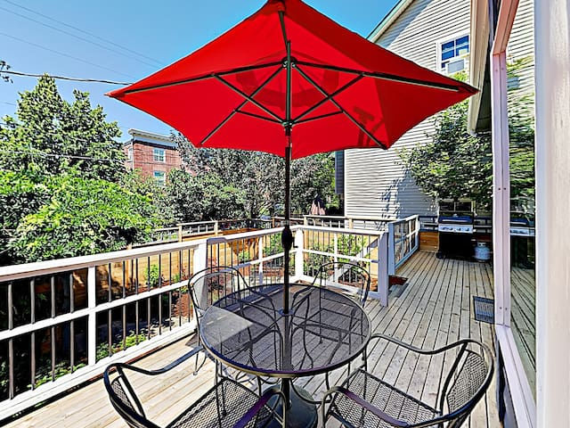 Fire up the grill and have an afternoon barbeque on the front deck.