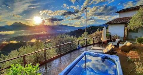 ROMANTIC GETAWAY AMAZING VIEWS - New large veranda