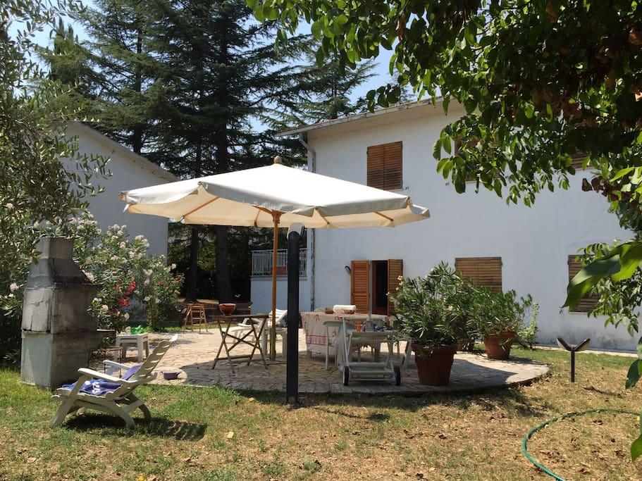 La casa & il giardino