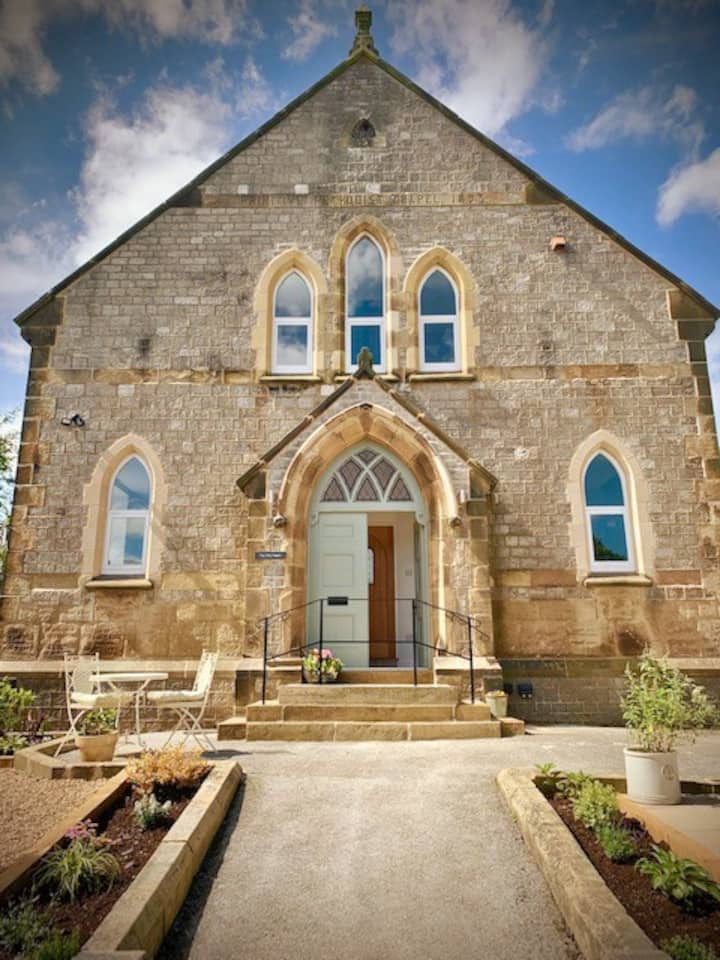 The Old Chapel-converted-unique-quirky-with garden
