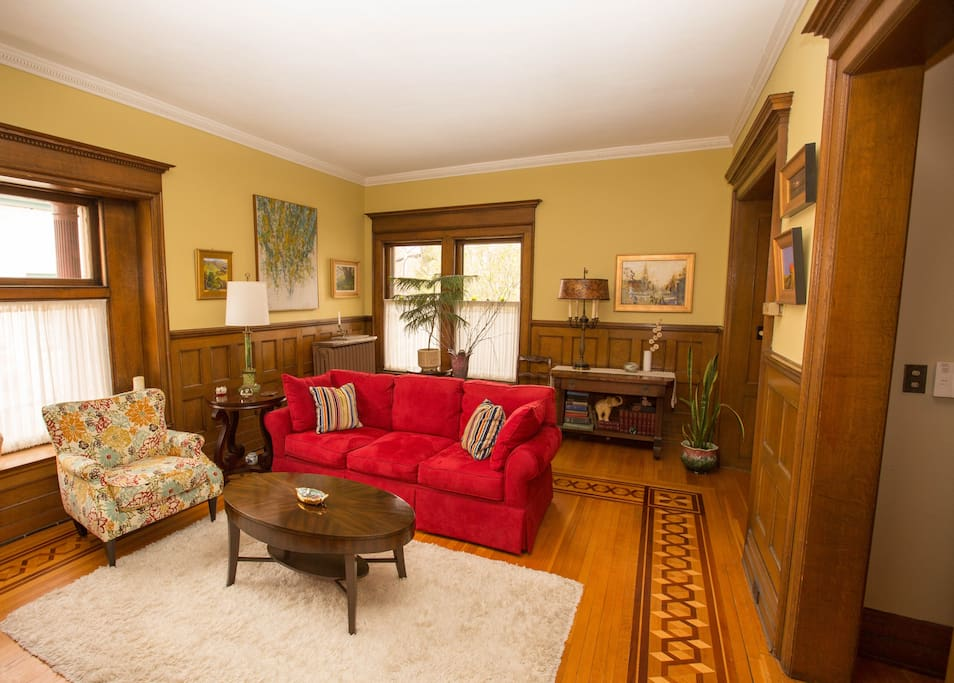 Townhouse apt in an old victorian near downtown flats for The family room buffalo ny