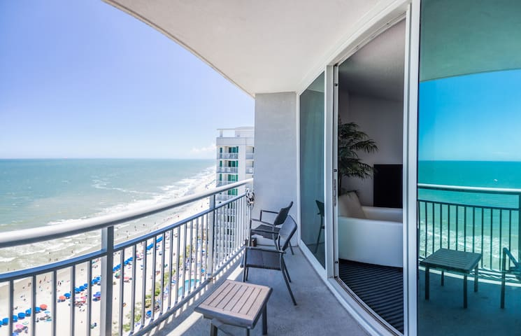 2 bed, 2 bath Oceanfront! -Ocean's One Resort 1806