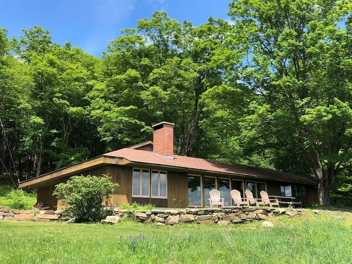 Midcentury Hillside Retreat - Summer Paradise