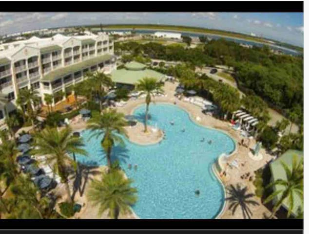 Cape Canaveral resort, on beach July 12thru 19th