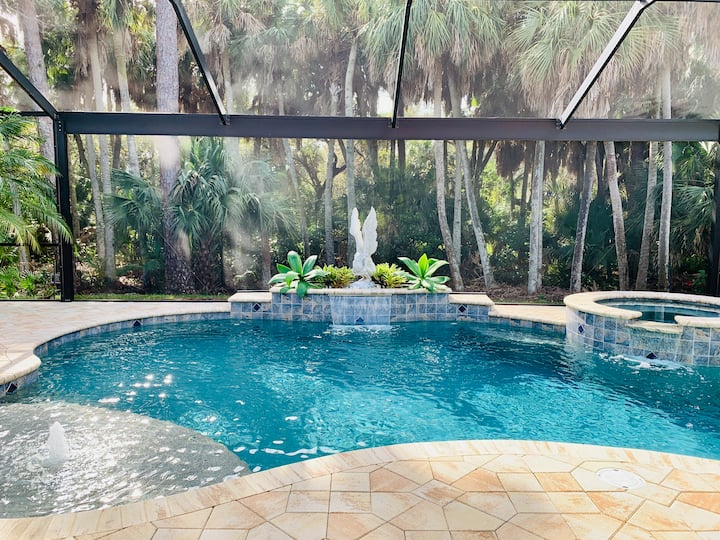 Private Tropical Paradise Awaits You in SW Florida