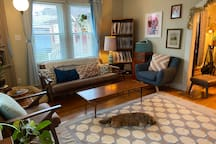 Shared space: living room downstairs