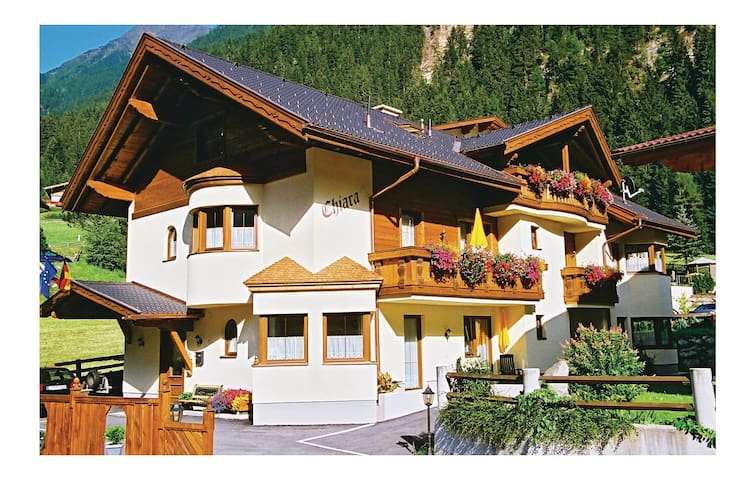 Holiday apartment with 1 bedroom on 50 m² in Neustift