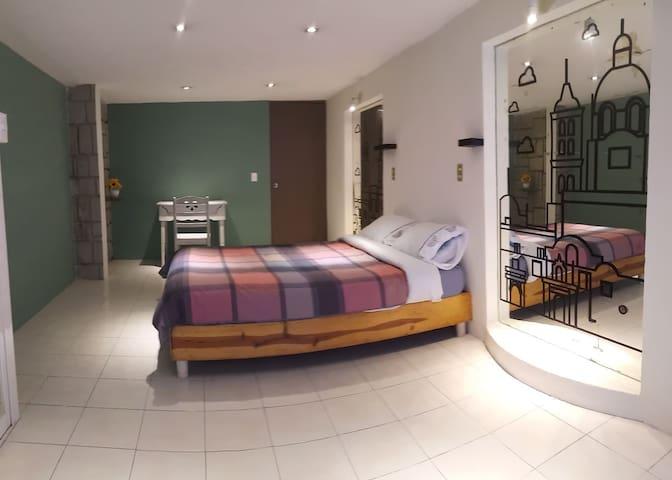Gran Suite No.1 en Corazòn de Puebla 7min Centro