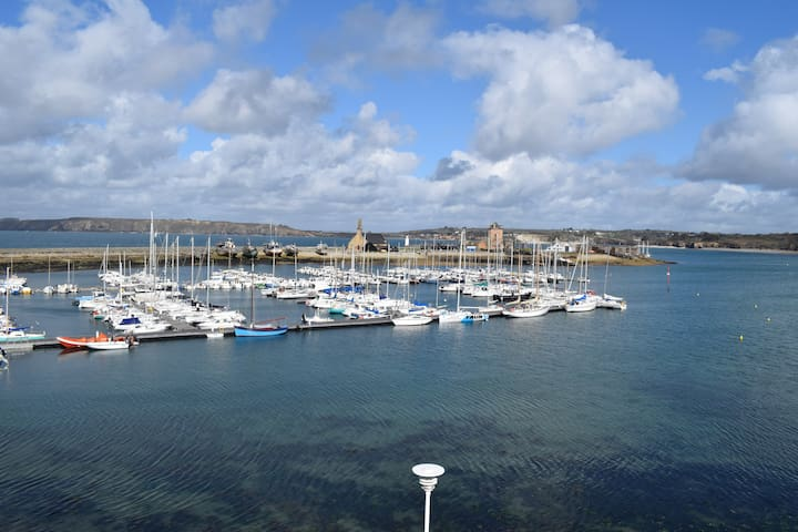 Agréable T2 vue panoramique sur le port