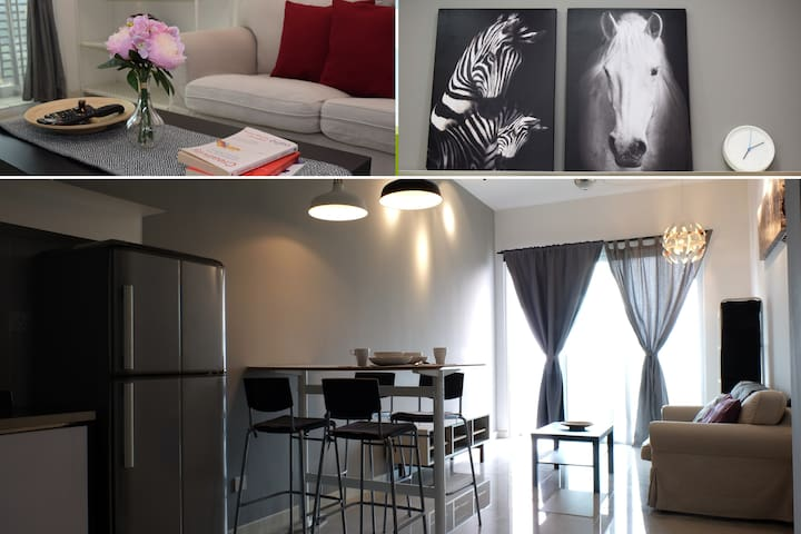 ★Zebra Funky Home - 5 mins to Mid Valley Mega Mall