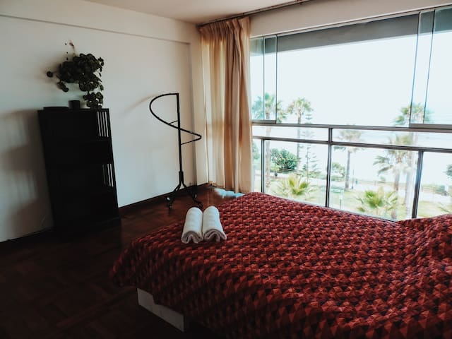 Ample and spacious bedroom.