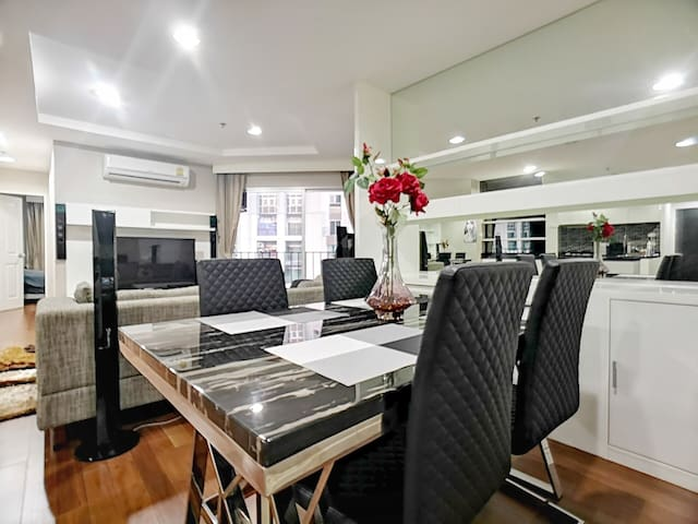 GLOSSY LUXURY SUITE/2BR/2WC/HIGH FLOOR/WIFI/MRT
