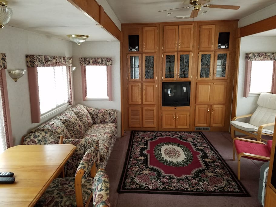 RV example living space.