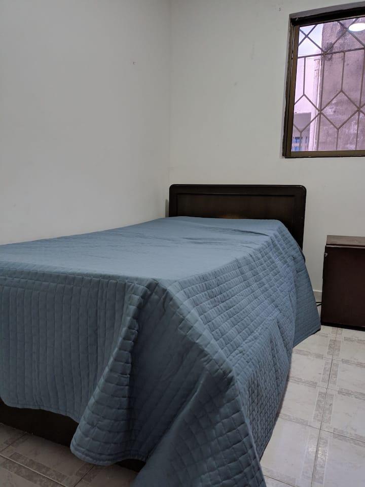 Hermosa y cómoda habitación.
