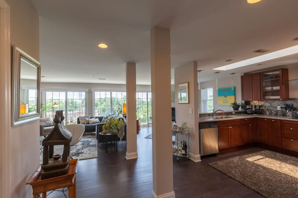 Open Floor Plan - Great Light and Views!