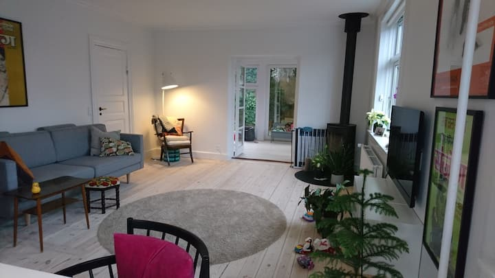 Family-friendly house in quiet part of central CPH