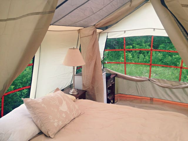 Camp in comfort and style
