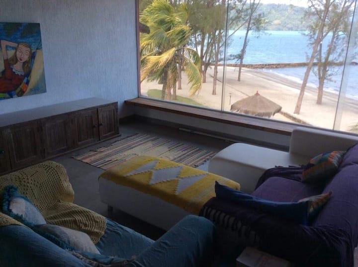 Beach apartment.
