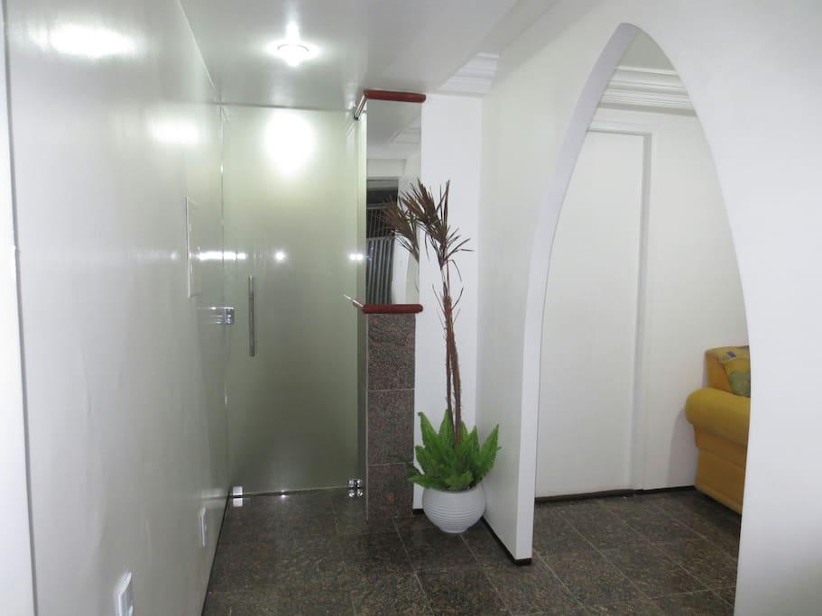 Porta de entrada da residencia e escritório