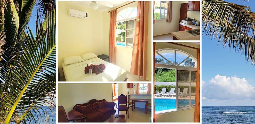 Serviced  apartment on the beach Costambar