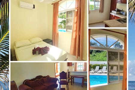 Serviced  apartment on the beach Costambar