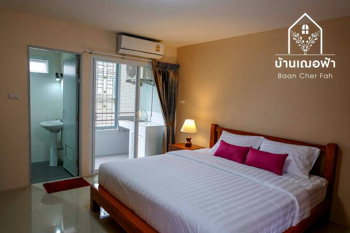 Baan Cher Fah302, Next to Bus station, beach 150m