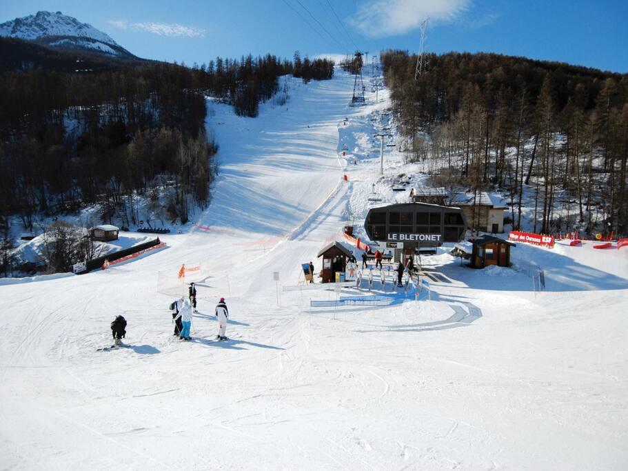 proximité des pistes de ski