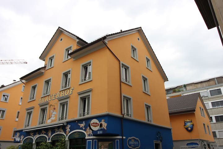 Swiss Star Brewery - double room