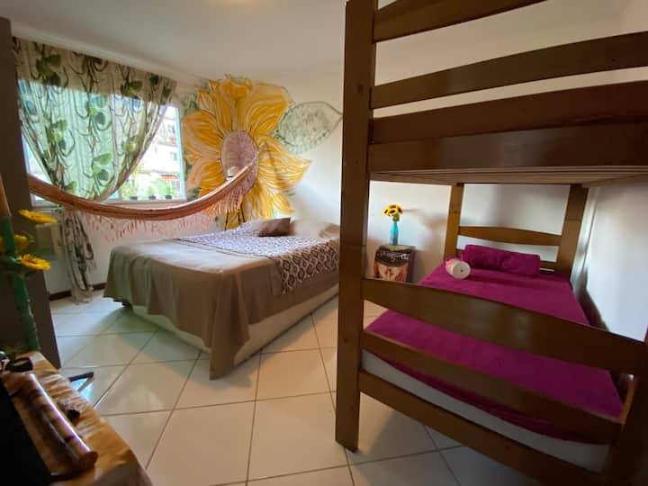 Girassol Room p/pessoa ( shared )