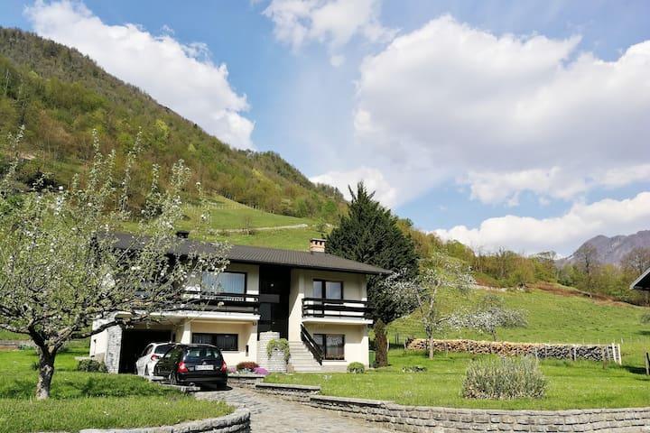 Kempa house in Soča Valley   hiselebanhouses