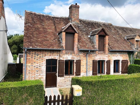 Typical house in the heart of the sologne