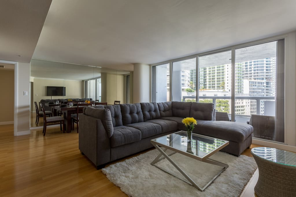 Spacious Living and Dining Rooms