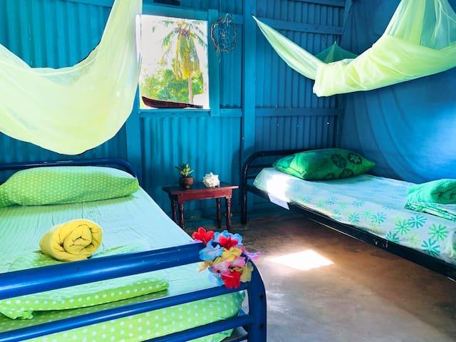 Punta Cana - Macao Beach - 2 single bed `Piña´