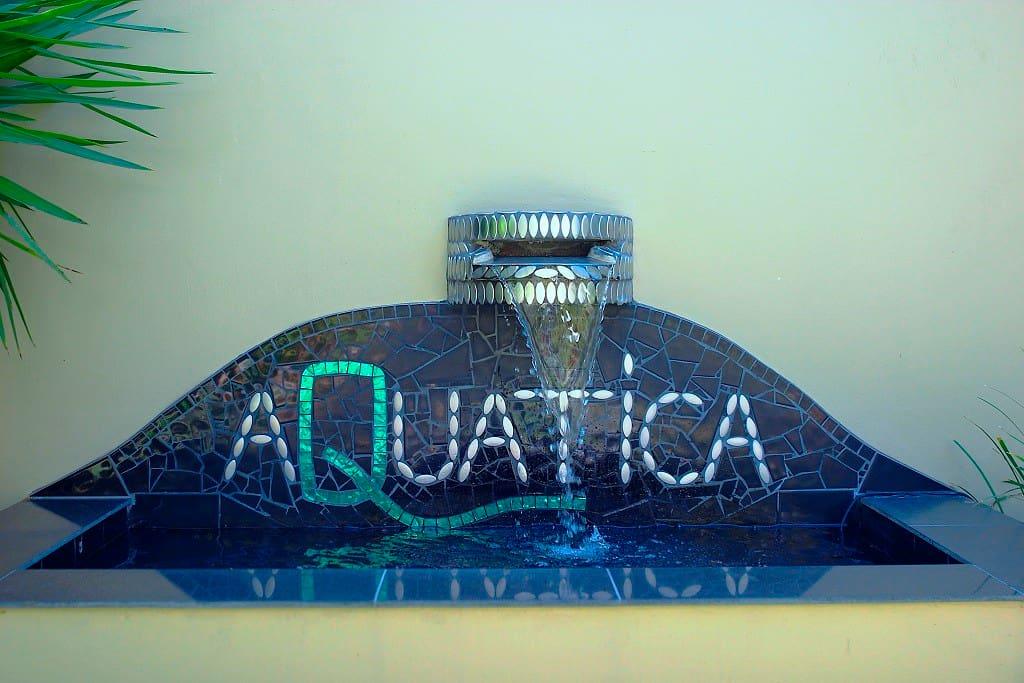 Aquatica entry pond