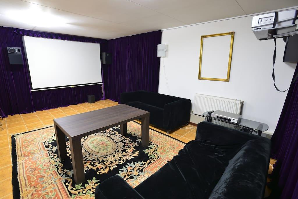 Домашний кинотеатр/караоке зал