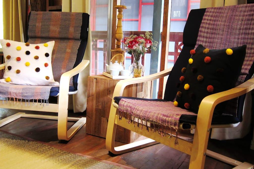 Scandinavian armchairs