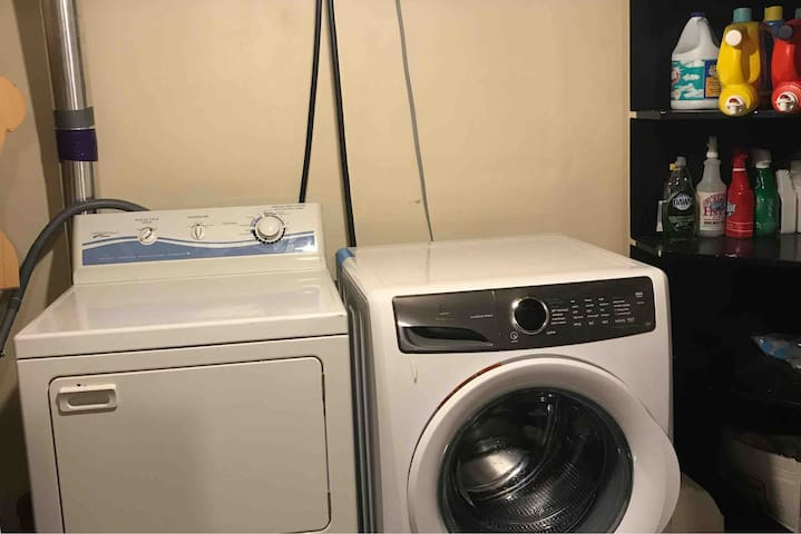 Laundry room for you to use