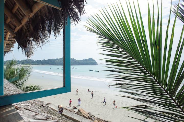 SOL - Habitación privada frente a la playa