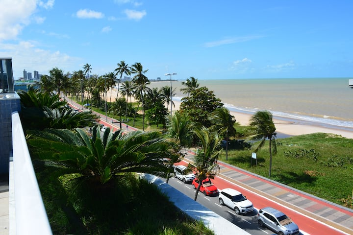 Beira Mar do Cabo Branco - 2 qts - 2 wc