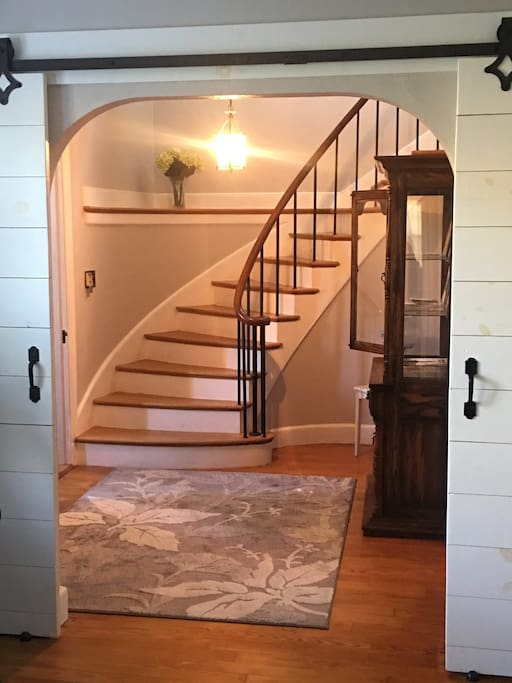 Spiral stairs to your private space