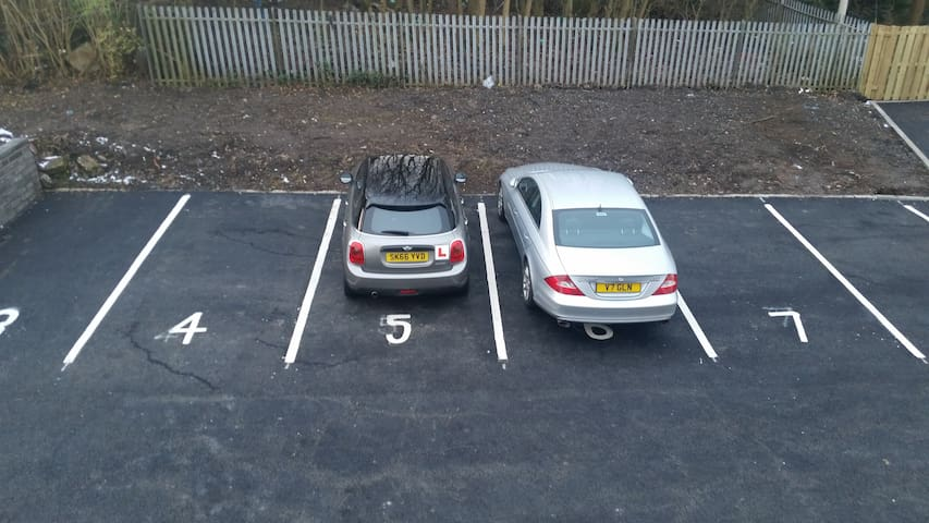 Private Parking area